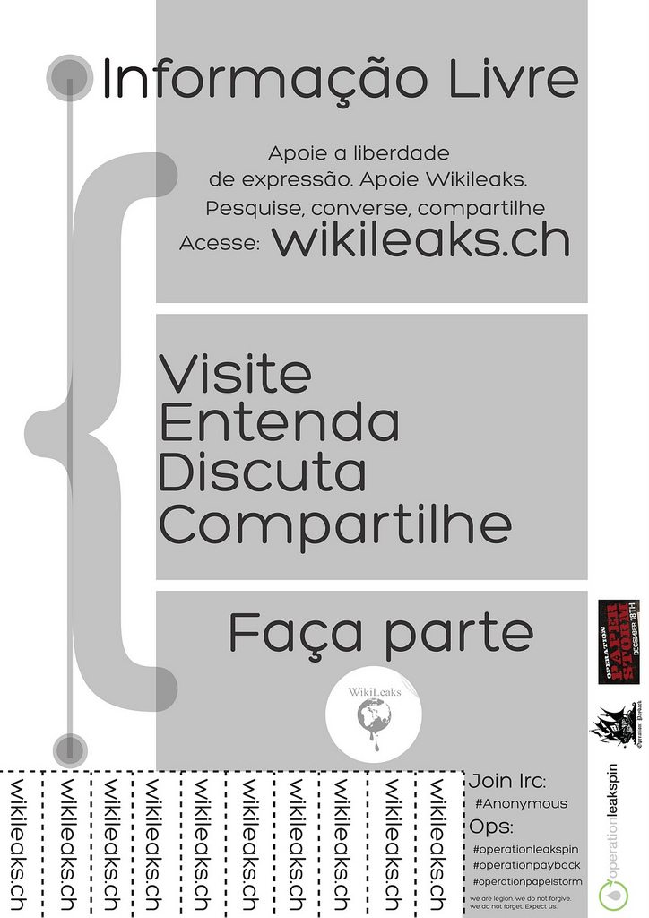 Operation #PaperStorm: Flyer em Português