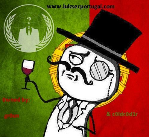 Quarta vaga de defaces feitos por LulzSec Portugal
