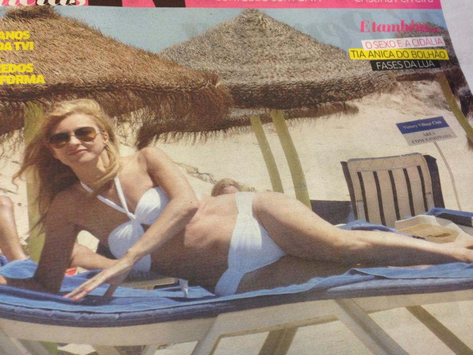 CM vai buscar opiniões a grupos privados no Facebook sobre o bikini da Judite de Sousa