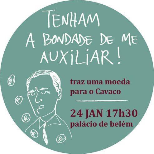 Populares unem-se para ajudar Cavaco Silva a pagar as suas despesas