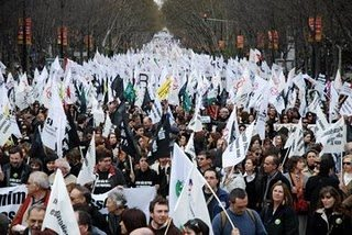 Protesto de Professores no Rossio - 10 de Setembro