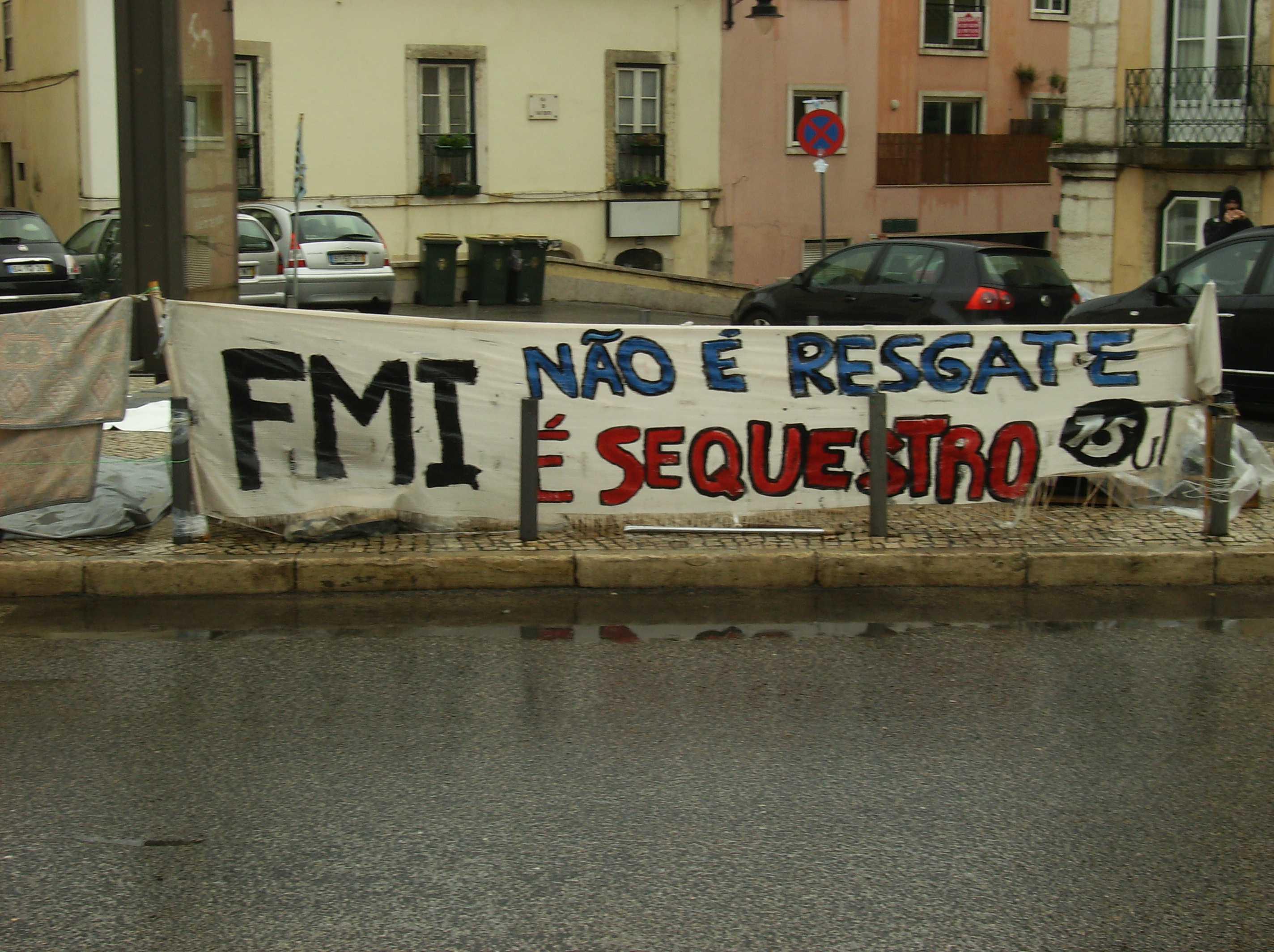 Como se vive no Movimento Ocupar Lisboa