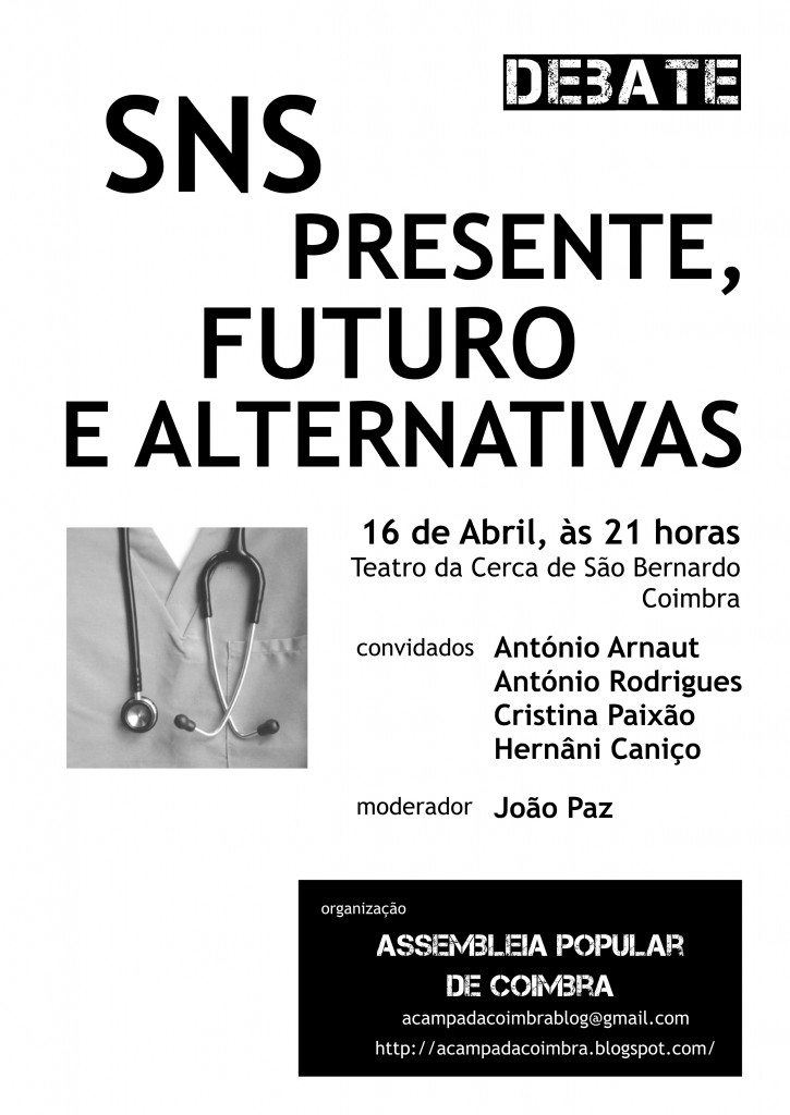Debate SNS Coimbra